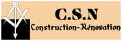 Logo Csn : Construction-rénovation