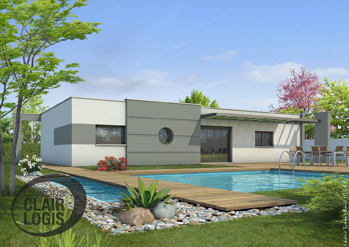 prix maison clair logis excellent ton sable classique pour cette maison clair logis maisons. Black Bedroom Furniture Sets. Home Design Ideas
