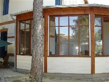 charpente ossature moderne laverune